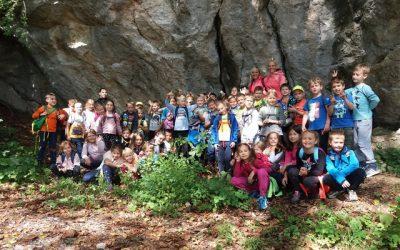 Pohod na Cavrno – 2. razred