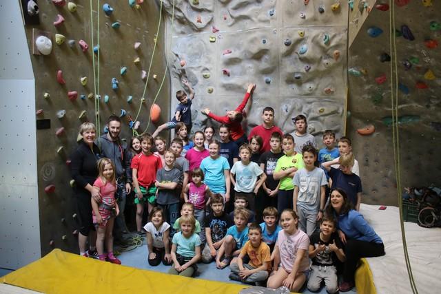 Planinci plezali v PC Bricalp